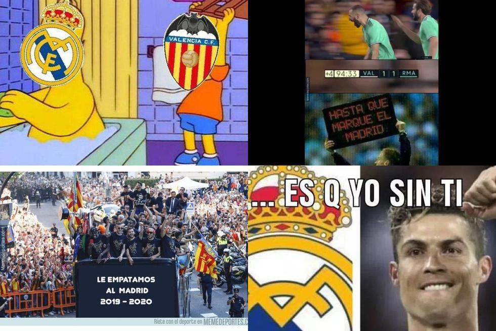 Los memes del Real Madrid-Valencia por LaLiga Santander
