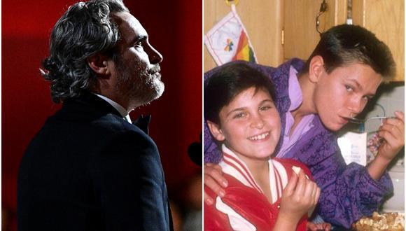 """Joaquin Phoenix se llevó el premio a Mejor actor de los Oscar 2020 por su rol protagónico en """"Joker"""". Al recibir el premio, el actor recordó a su fallecido hermano River Phoenix. (Foto: AFP)"""