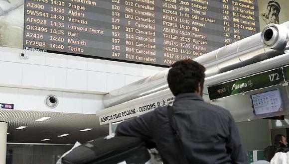 Aerolínea Alitalia recibe ayuda del gobierno y evita la quiebra