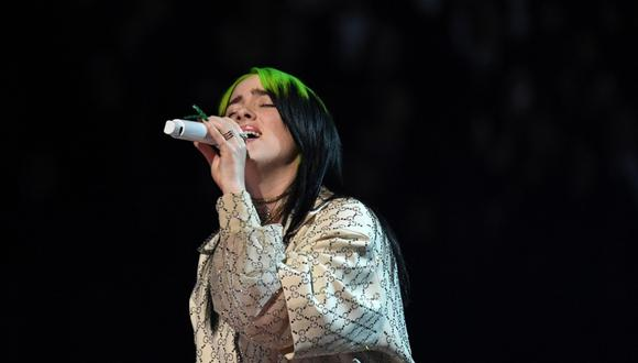 Billie Eilish pondrá la cuota musical en la ceremonia de los Oscar 2020. (Foto: AFP)
