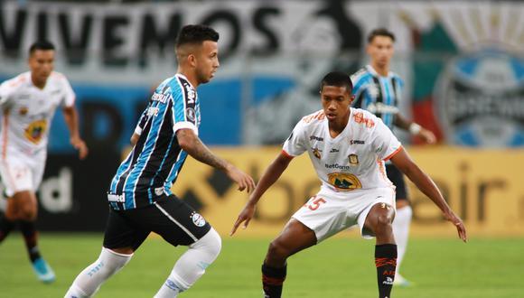 Ayacucho FC perdió 6-1 ante Gremio en el encuentro de ida de la fase 2 de la Copa Libertadores | Foto: Reuters
