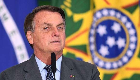 El presidente de Brasil, Jair Bolsonaro, autorizó el despliegue de un cuerpo de seguridad federal en la reserva indígena Yanomami, en la Amazonía. (Foto: EVARISTO SA / AFP).