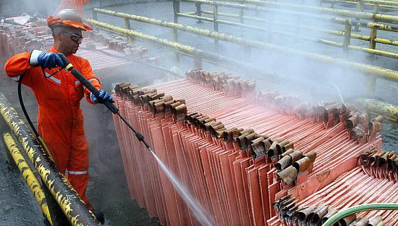 El precio del cobre abrió a la baja en la última sesión del año. (Foto: Reuters)