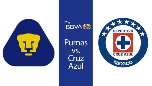 Esta es la hora, el canal y la transmisión en vivo del partido entre Pumas y Cruz Azul por la fecha de la Liga MX. | Producción