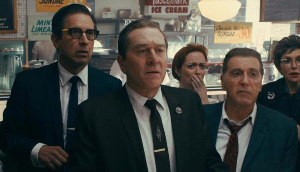 La nueva producción de Netflix y Martin Scorsese tuvo un costo de 160 millones de dólares.  (Fotos: Netflix)