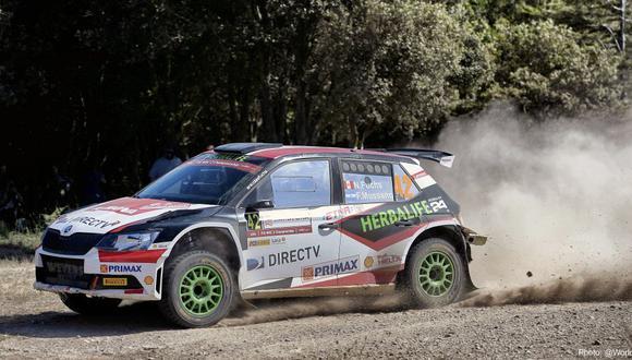WRC: Nicolás Fuchs sube al tercer lugar del Rally Italia