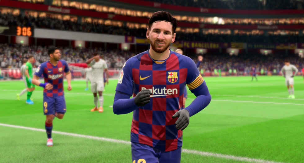 Lionel Messi en FIFA 20. (Imagen: EA)