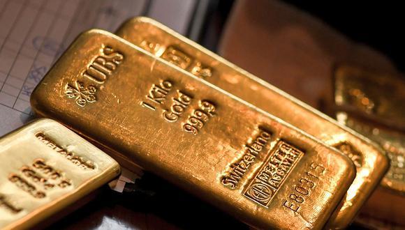 Los futuros del oro en Estados Unidos cotizaban planos en US$ 1.842,90. en las primeras horas de este jueves. (Foto: AFP)