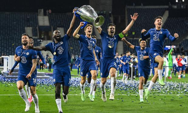 Chelsea, champion of the UEFA Champions League.  (Photo: AFP)