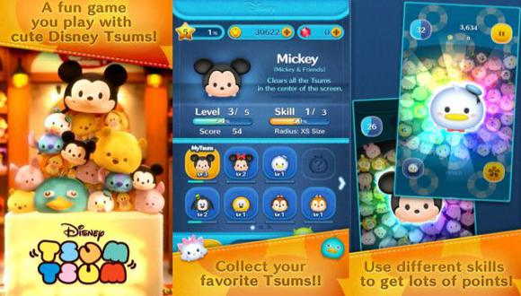 Disney Tsum Tsum: ¿un nuevo candy crush?