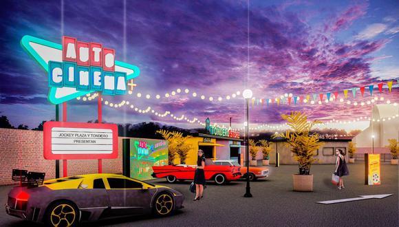 Autocinema+ abrirá al público este 26 de julio. (Foto: Tondero)