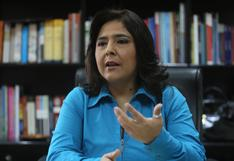 """Mirtha Vásquez va a tener que traducir lo que el presidente diga"". Entrevista a Ana Jara"