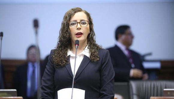 Rosa Bartra. (Congreso de la República)