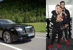 Anuel AA y el costoso Rolls-Royce que regaló a Karol G por su cumpleaños   FOTOS