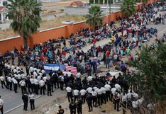 Guatemala disuelve con el uso de la fuerza a caravana migrante hondureña | FOTOS
