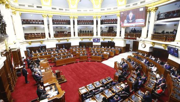 La resolución esta refrendada por el presidente y el vicepresidente del Congreso de la República. (Foto: Congreso de la República)
