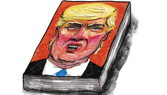 """""""El libro vendió 1,3 millones de copias en su primera semana, según su editorial"""". (Ilustración: Giovanni Tazza)."""