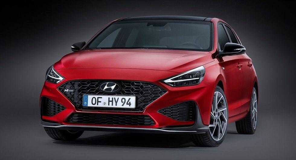 6. Hyundai i30. El hatchback mediano de Hyundai estaba listo para debutar en Ginebra. Se sabe que equipará un motor de un litro turboalimentado que produce 118 hp.