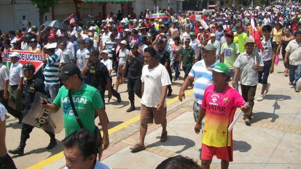 Ucayali: 11 detenidos y un herido en huelga regional indefinida - 1