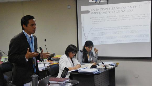 Jefferson Moreno, abogado de Nadine Heredia. (Foto: Poder Judicial)