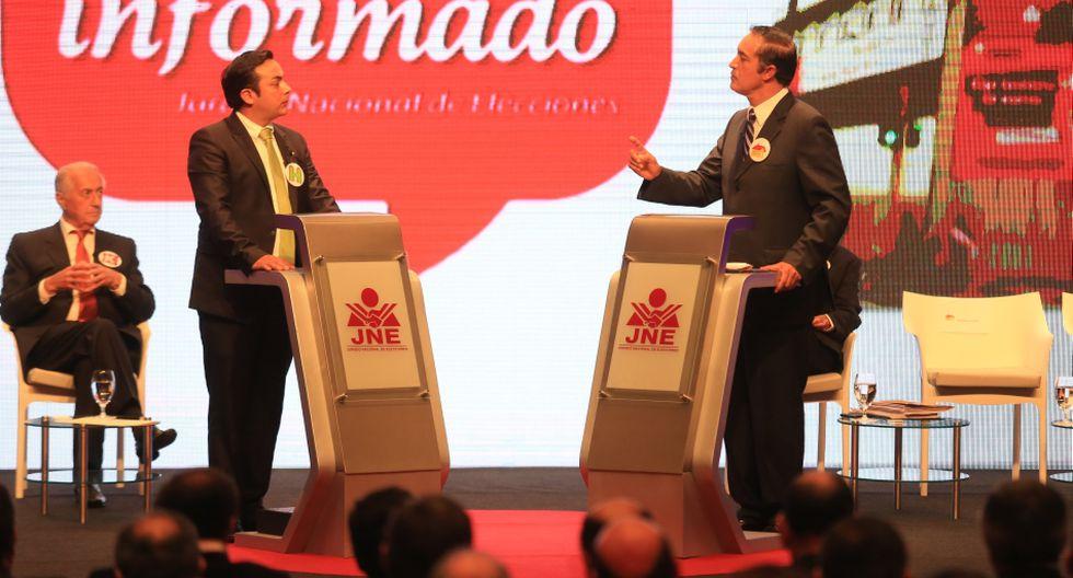 Los 13 candidatos a la Alcaldía de Lima en el debate del JNE - 9