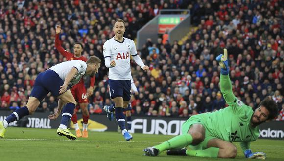 Liverpool vs. Tottenham por Premier League. (Foto: AP)