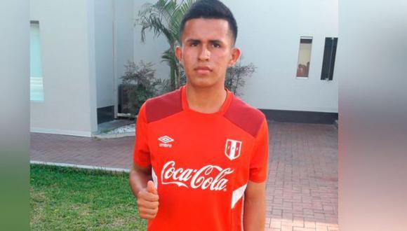 Osama Vinladen Jimenez (Unión Comercio) formó de alguna convocatoria en Selección Peruana Sub-15.