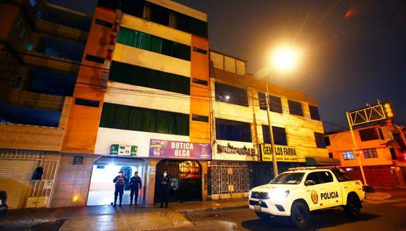 Janette Mallqui Peche tenía 31 años fue hallada muerta esta madrugada dentro de un hostal en Bellavista. (Foto: César Grados/ GEC)