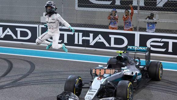 Nico Rosberg se consagró campeón de la Fórmula 1 por primera vez. (fotos: Media Daimler)