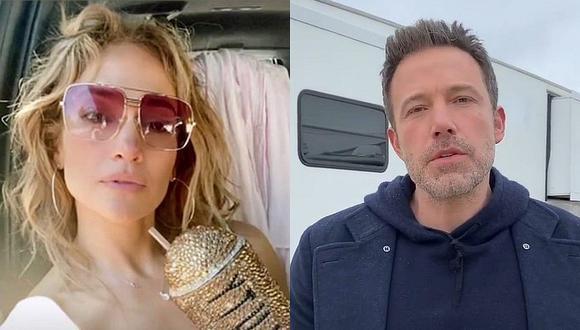 Ben Affleck cumplió 49 años, pero aún no hay rastro de su celebración con Jennifer Lopez. (Foto: @jlo @benaffleck Instagram / Composición)