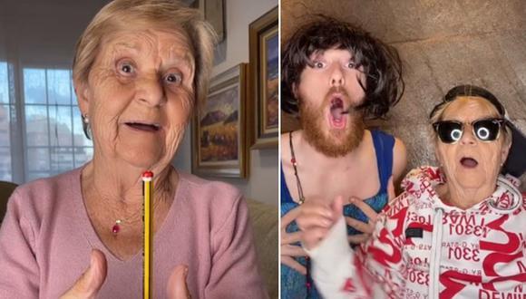 Rosa es una abuela española que está causando sensación en TikTok. (Foto: @conbuenhumor / TikTok)