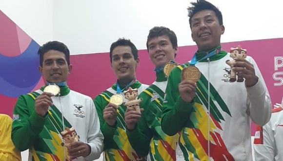 Bolivia ganó su primera medalla de oro en los Juegos Panamericanos en la edición de Lima 2019. (Foto: Difusión)