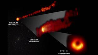 Agujero negro M87 comienza a entregar sus secretos