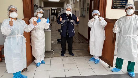 La cantidad de pacientes recuperados aumentó este viernes, informó el Minsa.  (Foto: Ministerio de Salud)