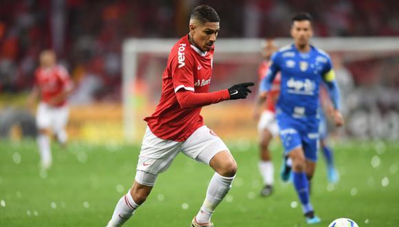 Internacional vs. Cruzeiro VER AQUÍ EN VIVO: con Paolo Guerrero, empatan sin goles por Copa Brasil  | Foto: Internacional
