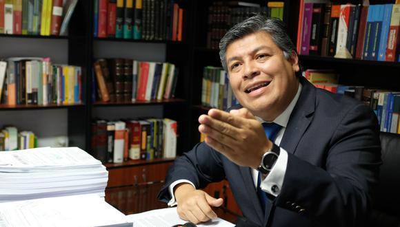 El abogado Luciano López espera que el Poder Judicial pueda anular la elección de miembros del TC por considerar que serían actos nulos | Foto: Archivo El Comercio