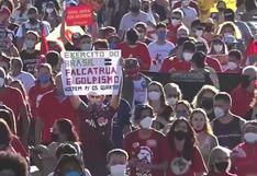 Brasileños exigen en las calles la destitución de Bolsonaro