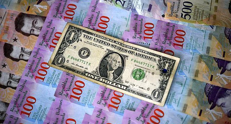 El precio del dólar operaba al alza este martes 28 de abril en Venezuela, según el DolarToday. (Foto: AFP)