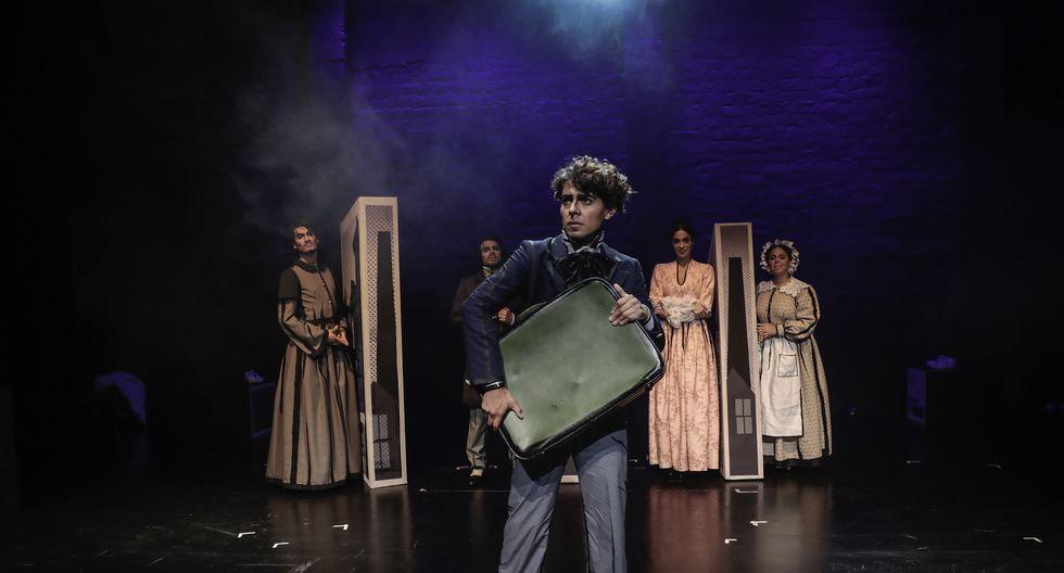 Sergio Amasgo es David Copperfield. Renato Rueda, Claudio Calmet, Valeria Escandón y Piera del Campo dan vida a la familia del personaje. (Foto: Hugo Pérez)