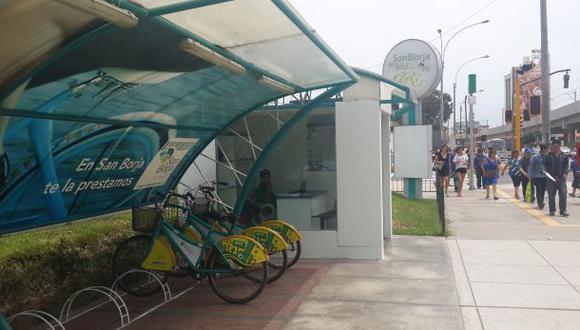 San Borja presta bicicletas a sus vecinos