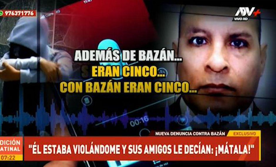 Adolfo Bazán Gutiérrez: mujer denuncia que abogado la violó cuando era menor de edad (ATV)