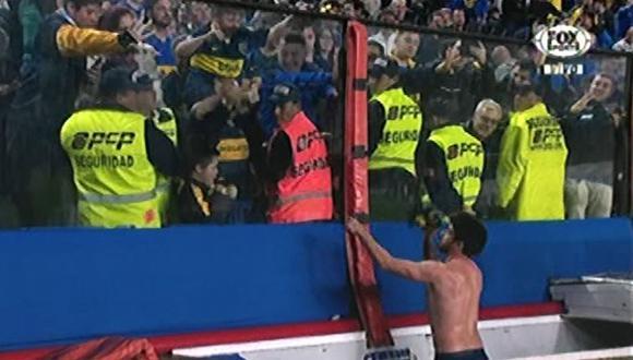Pablo Pérez de Boca Juniors hizo feliz a un niño con Síndrome de Down. (Video: Fox Sports)