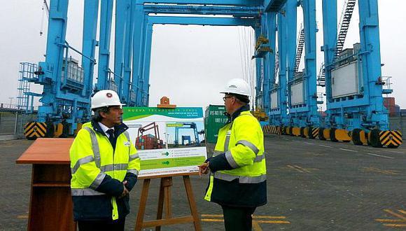 APM Terminals invierte US$20 millones en compra de 12 grúas