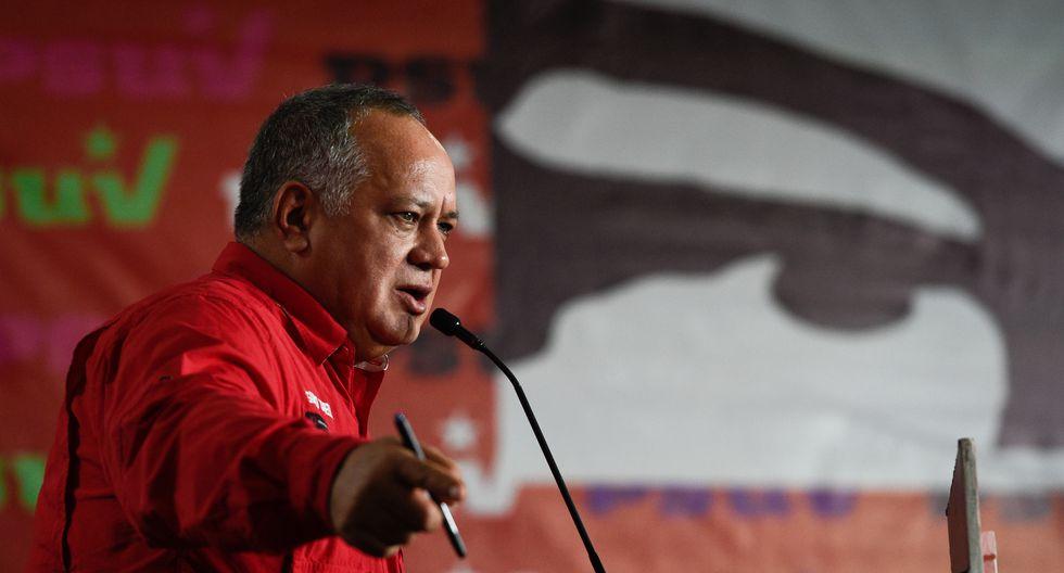 Venezuela: Diosdado Cabello llama a defender régimen de Maduro. Foto: Archivo de AFP