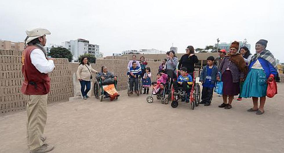 Miraflores: Realizan recorrido para personas con discapacidad  - 1