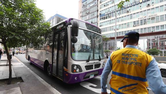 El gerente general de la Asociación de Concesionarios de Transporte Urbano (ACTU), Ángel Mendoza, detalló que el dinero que será otorgado para los corredores complementarios solo cubrirá los gastos de junio y julio. (Municipalidad de Lima)