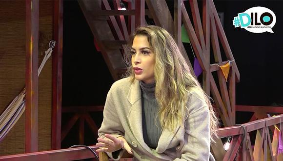 Milett Figueroa es la segunda invitada del programa de El Comercio #Dilo con Jannina Bejarano. (Foto: El Comercio)