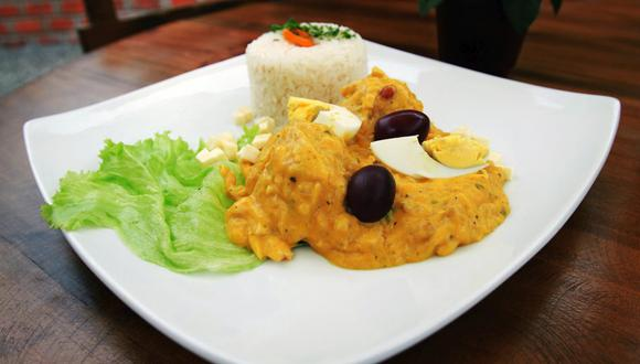 El ají de gallina es una plato de la costa del Perú. (Foto: Archivo GEC)