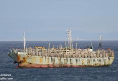 Cientos de barcos chinos pescan otra vez frente a Argentina