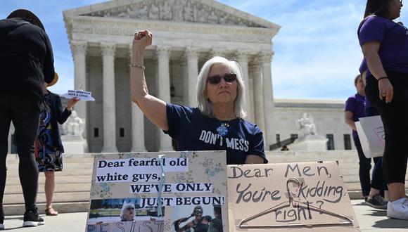 Estados Unidos: Defensores de derechos humanos demandan a Alabama por ley antiaborto. Foto: AFP